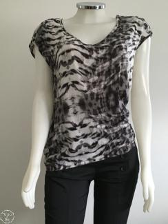 leopardo blusa