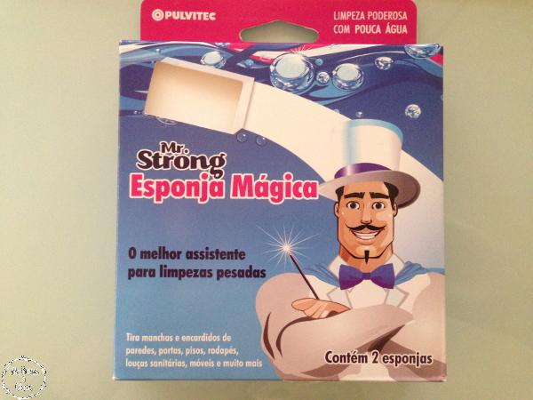 limpeza magica com esponja